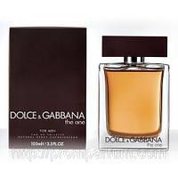 Мужская туалетная вода Dolce&Gabbana The One (благородный древесно-пряный аромат)  AAT