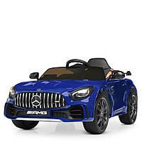 Детский электромобиль Mercedes Benz M 4182EBLRS-4 синий автопокраска