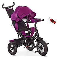Велосипед детский трехколесный TURBOTRIKE M 3115-8HA фиолетовый