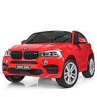 Двухместный детский электромобиль BMW JJ 2168EBLR-3 красный