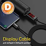 Кабель USB TOPK (D-line) Apple-lightning (100 см) Red 5V/2,1A, фото 2