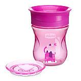 Чашка-непроливайка Chicco - Perfect Cup (06951.10) 200 мл / 12 мес.+ / розовый, фото 4