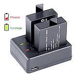 Зарядное устройство SJCAM / EKEN / BRAVIS (DC1050)  Dual Charge, фото 4