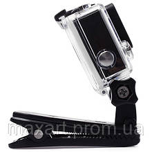 Крепление-клипса  GoPRO / SJCAM / EKEN / Kruger&Matz (TYGP0014) для экшн камеры / видеорегистратора