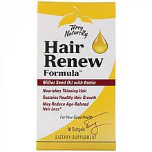 EuroPharma, Terry Naturally, формула восстановления волос, 60 капсул