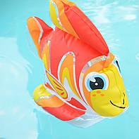Надувная игрушка intex 58590 золотая рыбка