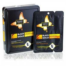 CMD-025 Маска для лица (отбеливающая) Black Gold Extravagant Whitening