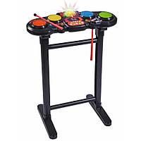 Музыкальная игрушка Simba Диско Електробарабаны со световыми эффектами 70 см (6834103), фото 1