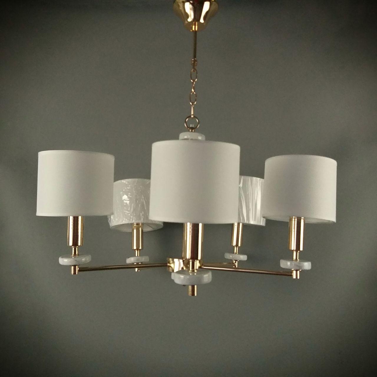 Люстра подвесная на 5 ламп 06-S139/5 FGD+WT(2шт)ТК