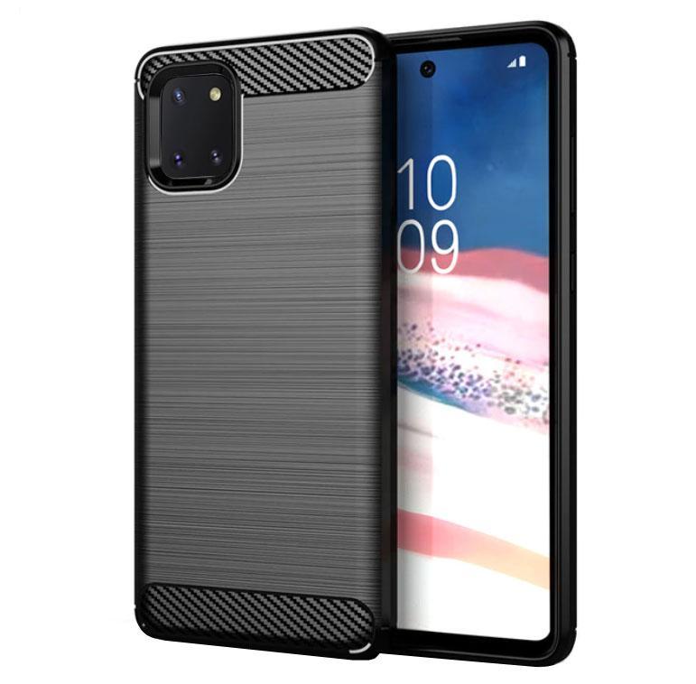 Чохол Primo Carbon Fiber Series для Samsung Galaxy Note 10 Lite (SM-N770) - Black