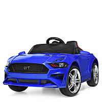 Детский электромобиль Ford Mustang M 3632EBLR-4 синий