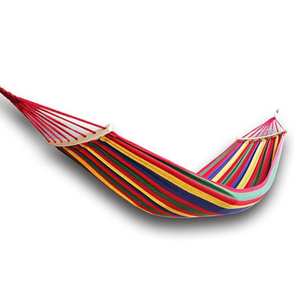 """Гамак  """"Relax"""" тканевый Подвесной 200 х 85 см с перекладиной для отдыха садовый"""