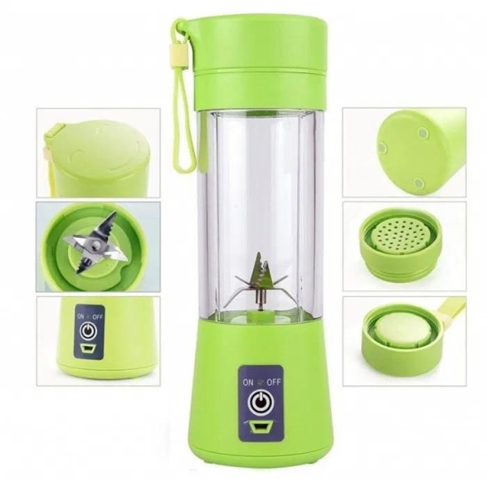 Фітнес блендер Smart Juice Cup Fruits Портативний міксер, шейкер USB