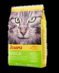 Сухой корм Josera SensiCat для котов, утка и индейка 10 кг