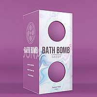 Бомбочка для ванны с ароматом тропиков Dona Bath Bomb - Sassy - Tropical Tease (140 гр). Интимная косметика
