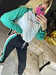 Повседневный костюм с лампасами с капюшоном: худи и штаны (в расцветках), фото 8