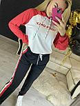 Повседневный костюм с лампасами с капюшоном: худи и штаны (в расцветках), фото 4