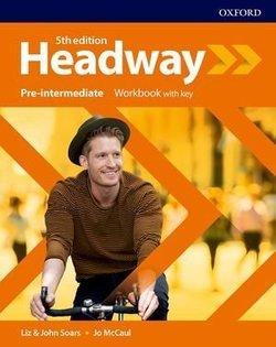 Headway 5th edition Pre-Intermediate Workbook with Key