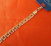 214 Мужской магнитный золотистый браслет, оптовая продажа браслетов в Одессе 7 км