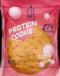 Протеиновое печенье Fit Kit  Bubble Gum  (40 грамм)