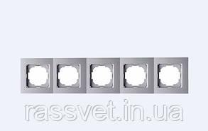 Рамка Nilson Touran срібло 5на універсальна