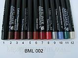 Олівець для очей/губ автомат. Artliner Lancome (сет BML/002) Олівець для очей/губ автомат(репліка), фото 5