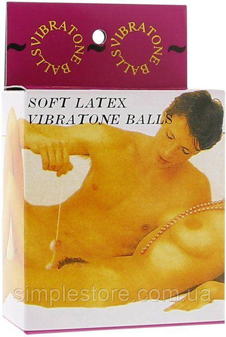 Шарики  вагинальные со смещенным центром тяжести Vibratone Balls. Вагинальные шарики