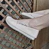 Макасіни кеди жіночі INSHOES бежеві, фото 2