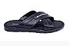 Мужские кожаные летние шлепанцы-сланцы BMW MotorSport