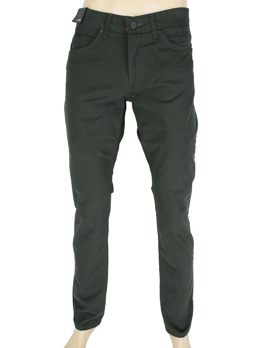 Стильні чоловічі джинси X-Foot 261-7084 C: Haki кольору хакі