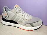 Мужские кроссовки в стиле адидас Nite Jogger Grey, фото 4