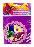 RLA-220362_01, Пригласительные открытки, (Набор 6 шт) , разноцветный