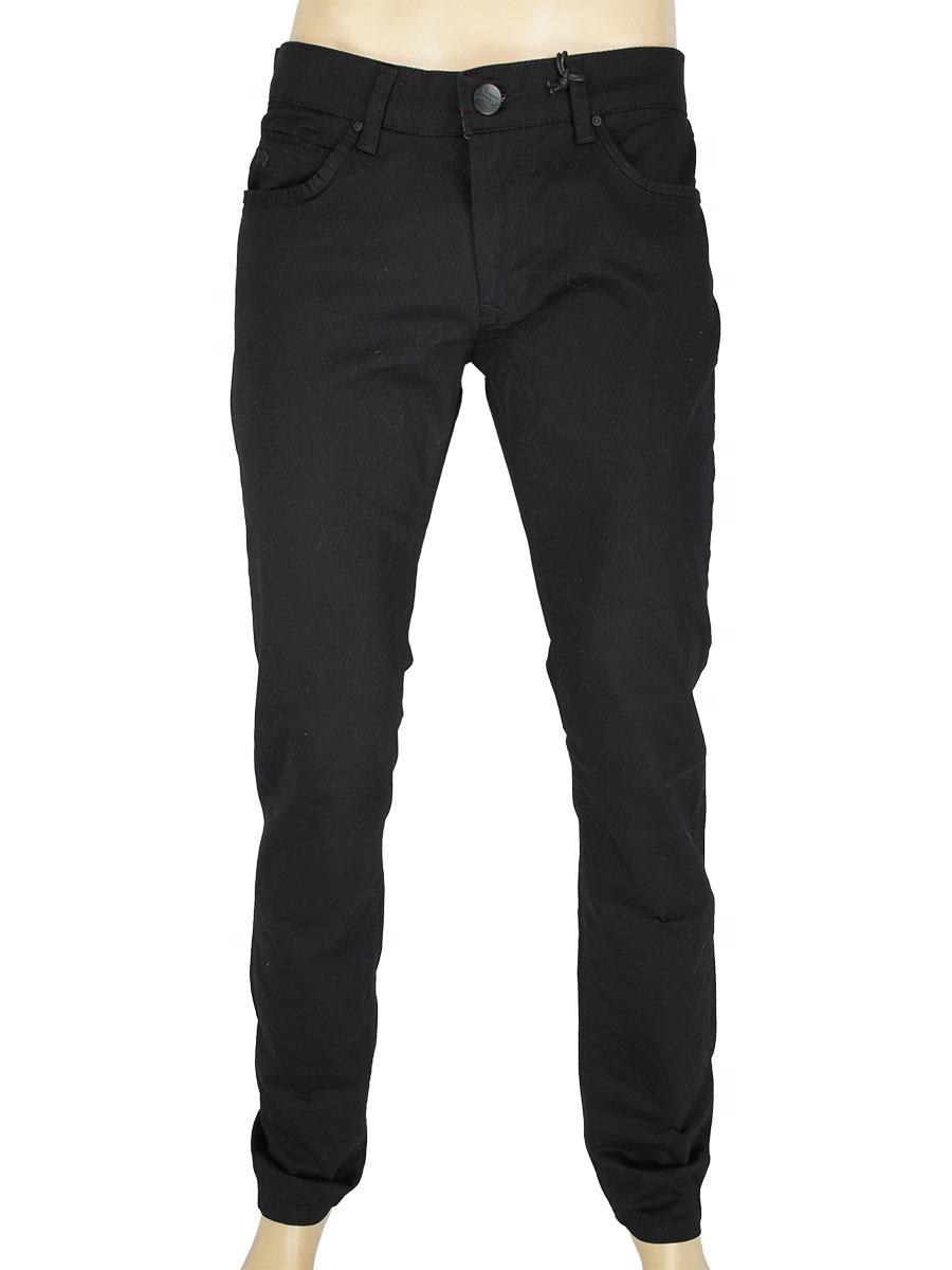 Турецькі чоловічі джинси X-Foot 261-7042 C-Siyan чорного кольору