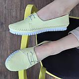 Макасіни кеди жіночі INSHOES жовті, фото 3