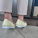 Макасіни кеди жіночі INSHOES жовті, фото 5