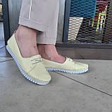Макасіни кеди жіночі INSHOES жовті, фото 6