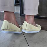 Макасіни кеди жіночі INSHOES жовті, фото 7