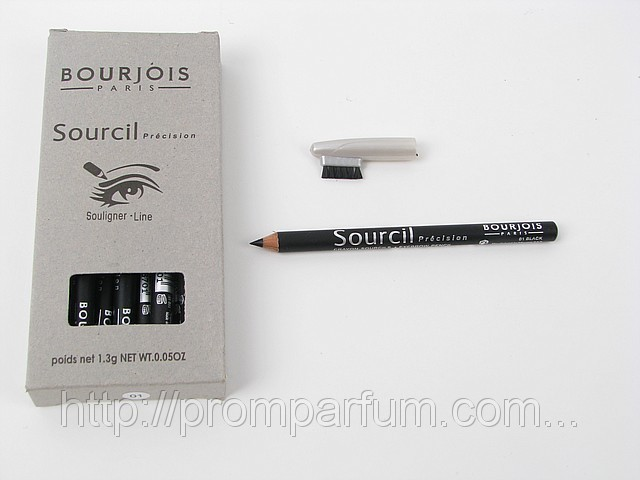 Карандаш для бровей - Bourjois Sourcil precision Souligner-Line (цвет 01 black) (реплика) ABD-N