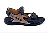Мужские кожаные сандалии Columbia Track Late синие