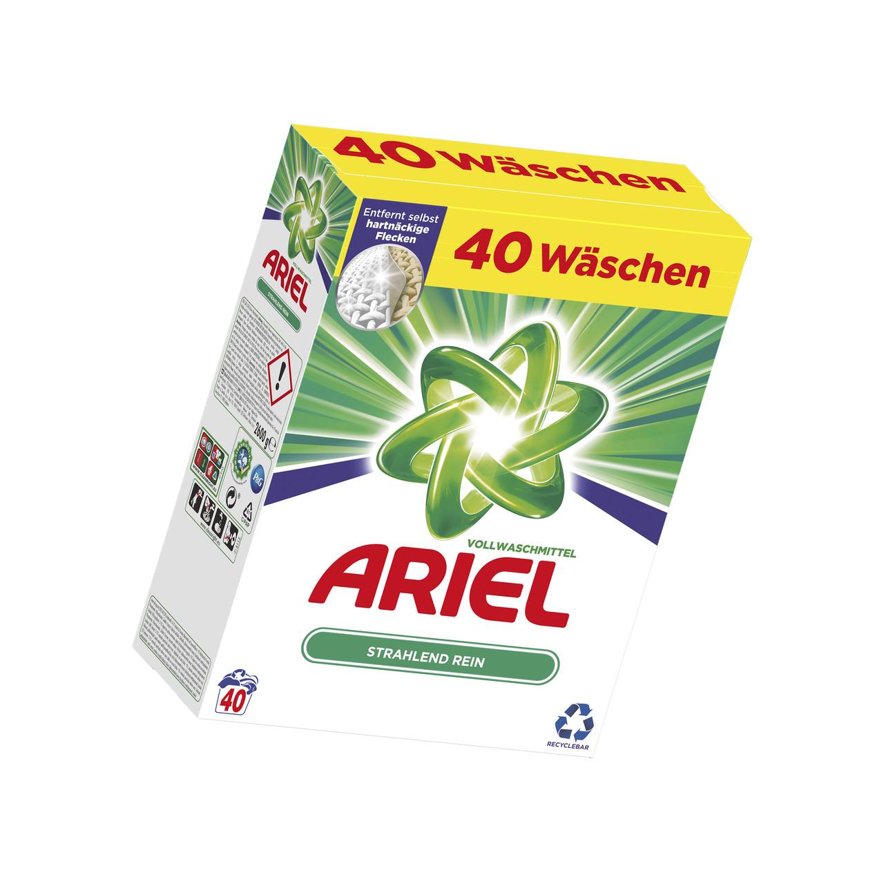 Стиральный порошок Ariel Actilift Vollwaschmittel (2,6 кг) Германия