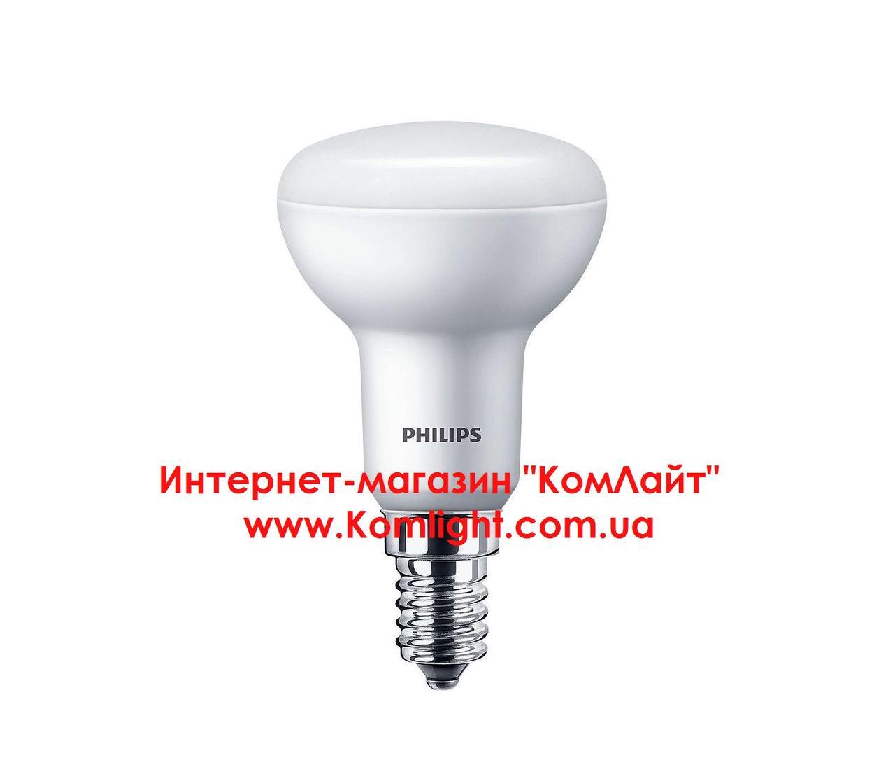 Лампа светодиодная PHILIPS ESS LED 4W E14 6500K 230V R50 рефлекторная