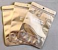 Зип-пакеты со струнным замком zip-lock зип-лок для нижнего белья Soft&Cool Underwear 14см х 21см, фото 6
