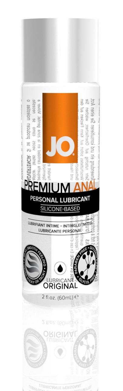 Лубрикант на силиконовой основе System JO ANAL PREMIUM - ORIGINAL (60 мл) (Систем Джо). Анальные смазки