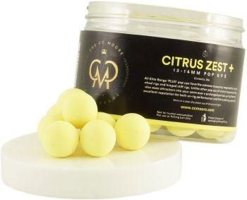 Плавающие бойлы CCMoore Citrus Zest+ Pop Ups (цитрусовая цедра) Elite Range 13/14мм