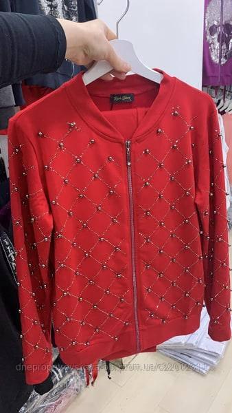 Стильный прогулочный красный костюм Турция 2020