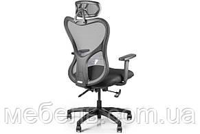 Кресло для врача Barsky Fly-05 Butterfly Black PL, сеточное кресло, черный, фото 2