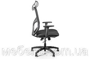 Кресло для врача Barsky Fly-05 Butterfly Black PL, сеточное кресло, черный, фото 3