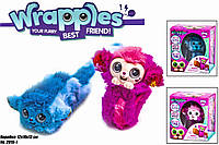 Интерактивная обезьянка на руку Wrapples 2019-1, 2 цвета,