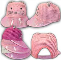 Шляпка для девочки с большим козырьком Размер 52 см, фото 2