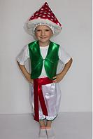 Карнавальный костюм гриб Мухомор для детей 3-6 лет